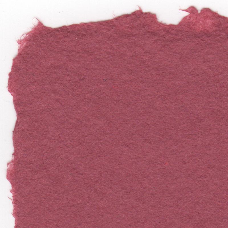 Burgundy cotton rag