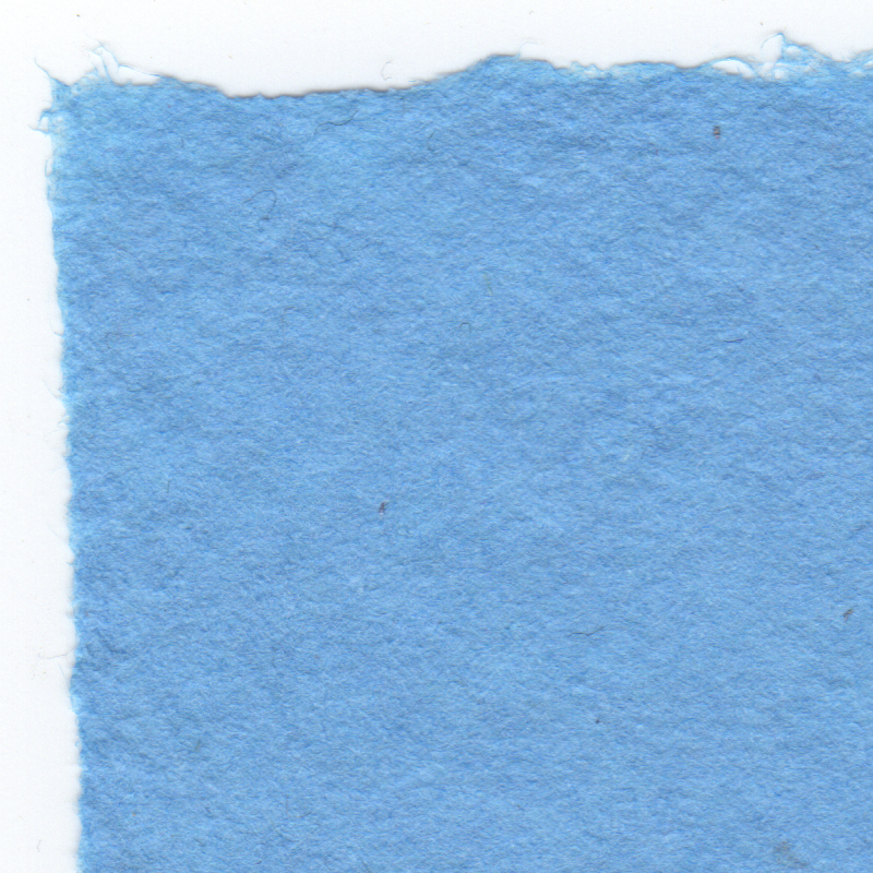 Bright blue linen